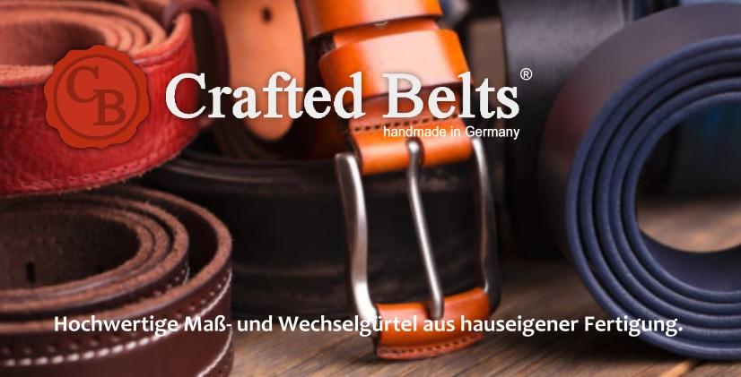 CRAFTED BELTS by DS-Leder & Sattlerbedarf
