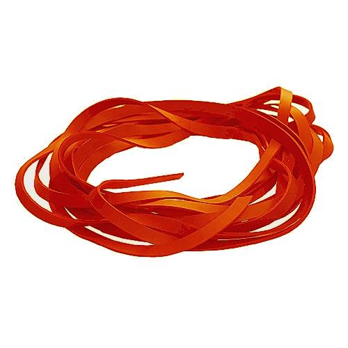 Fettleder Endlosriemen - Meterware orange