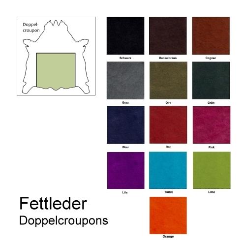 Fettleder Doppelcroupons