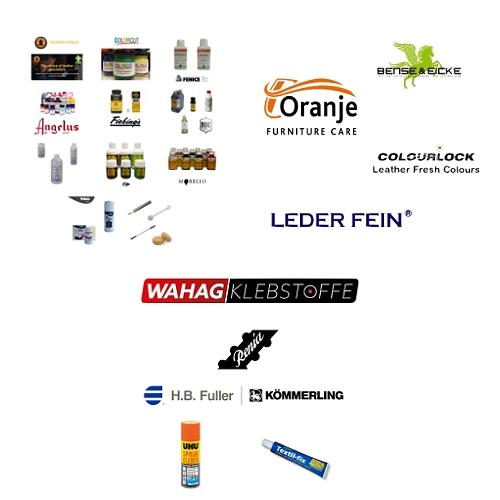 Farben, Pflege & Kleber