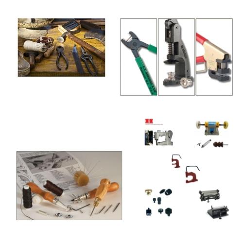 Lederwerkzeuge & Maschinen