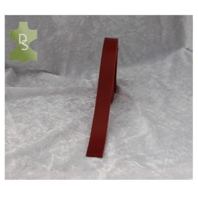 Lederriemen, Gürtelriemen aus Vollbüffel California - rot