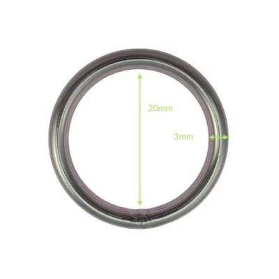 O-Ring aus Edelstahl - 20mm