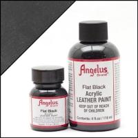 ANGELUS Acrylic Dye, 118ml, flat black