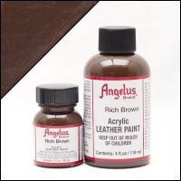ANGELUS Acrylic Dye, 118ml, rich brown