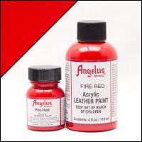 ANGELUS Acrylic Dye, 118ml, fire red