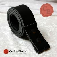 Wechselgürtel, Vollrind schwarz, 4cm