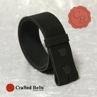 Wechselgürtel, Büffel BISON schwarz, 4cm