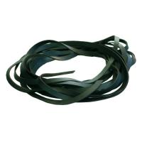 Fettleder Endlosriemen - 12mm - grün