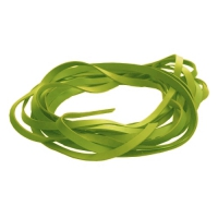 Fettleder Endlosriemen - 14mm - lime