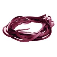 Fettleder Endlosriemen - 6mm - pink