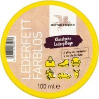 B & E Lederfett farblos, 100 ml