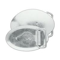 Schnallenrohling - OVAL BUCKLE BLANK - STEEL 1-1/4in