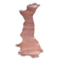 Blankleder Flanken altrosa - 1,5 - 1,7 mm