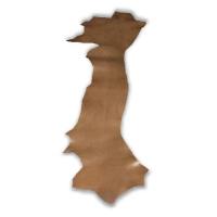 Blankleder Flanken braun - 1,5 - 1,7 mm