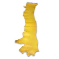 Blankleder Flanken gelb - 1,5 - 1,7 mm