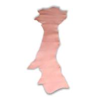 Blankleder Flanken rose - 1,5 - 1,7 mm