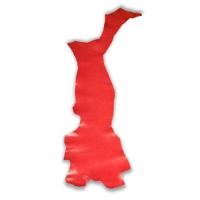 Blankleder Flanken rot - 1,5 - 1,7 mm
