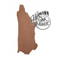 Herman Oak ® - Blankleder halbe Haut – naturell - 1,2 mm