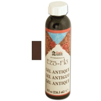 ECO-Flo GEL ANTIQUE 235ml, DkBrown