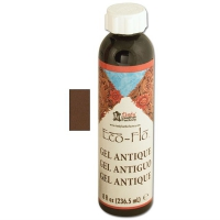 ECO-Flo GEL ANTIQUE 235ml, MedBrown
