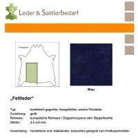 Fettleder Croupon - blau