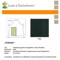 Fettleder Croupon - grün