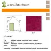 Fettleder Croupon - pink