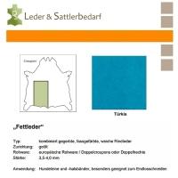 Fettleder Croupon - türkis
