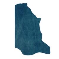 Fettnubuk CLASSIC - 1/2 Haut - light blue