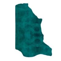 Fettnubuk CLASSIC - 1/2 Haut - turquoise