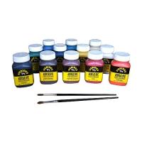 Fiebing's Acryl Lederfarben-Set (Acrylic Dye Pack)