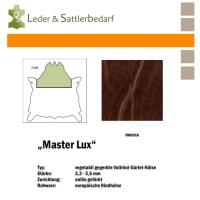 Vollrind-Gürtel-Hals Master Lux - mocca
