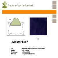Vollrind-Gürtel-Hals Master Lux - navy