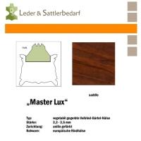 Vollrind-Gürtel-Hals Master Lux - saddle