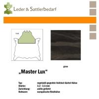 Vollrind-Gürtel-Hals Master Lux - schlammgrau