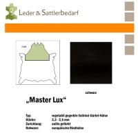 Vollrind-Gürtel-Hals Master Lux - schwarz