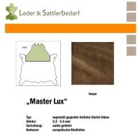 Vollrind-Gürtel-Hals Master Lux - taupe