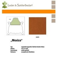 Vollrind-Gürtel-Hals Mexico - cuero