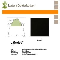 Vollrind-Gürtel-Hals Mexico - schwarz