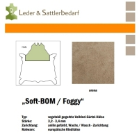 Vollrind-Gürtel-Hals Soft-BOM Foggy - arena
