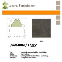 Vollrind-Gürtel-Hals Soft-BOM Foggy - grey