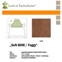 Vollrind-Gürtel-Hals Soft-BOM Foggy - wood