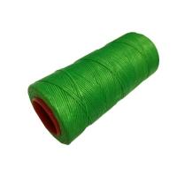 Handnähgarn BASIC, gewachst, neon-grün