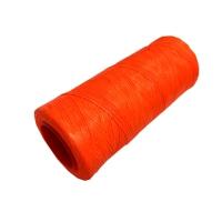 Handnähgarn BASIC, gewachst, neon-orange