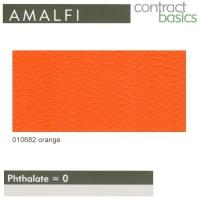 "Kunstleder ""AMALFI"" - 010682 orange"
