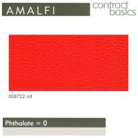 """Kunstleder """"AMALFI"""" - 008722 rot"""