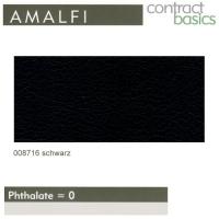 """Kunstleder """"AMALFI"""" - 008716 schwarz"""