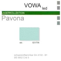 "Kunstleder ""PAVONA"" B1 - 021756 eis"
