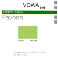 "Kunstleder ""PAVONA"" B1 - 021758 minze"